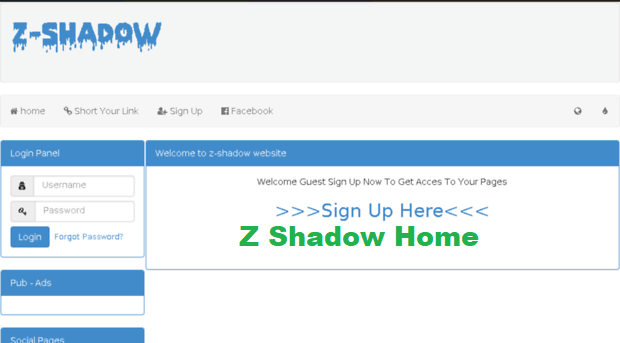 z shadow home,z shadow.info